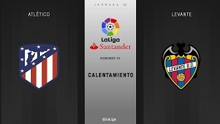 Atletico Madrid 3 - 0 Levante