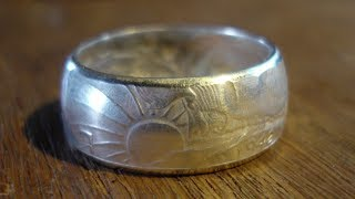 Curling The Edges Of A Coin Ring Without A Ring Press