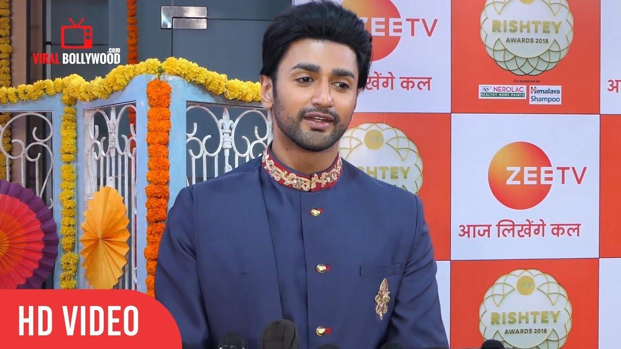 Guddan - Nishant Malkani aka Akshat at Zee Rishtey Awards 2018 | Red Carpet