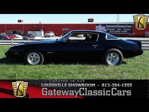 1979 Pontiac Firebird - Louisville Showroom - Stock # 1662