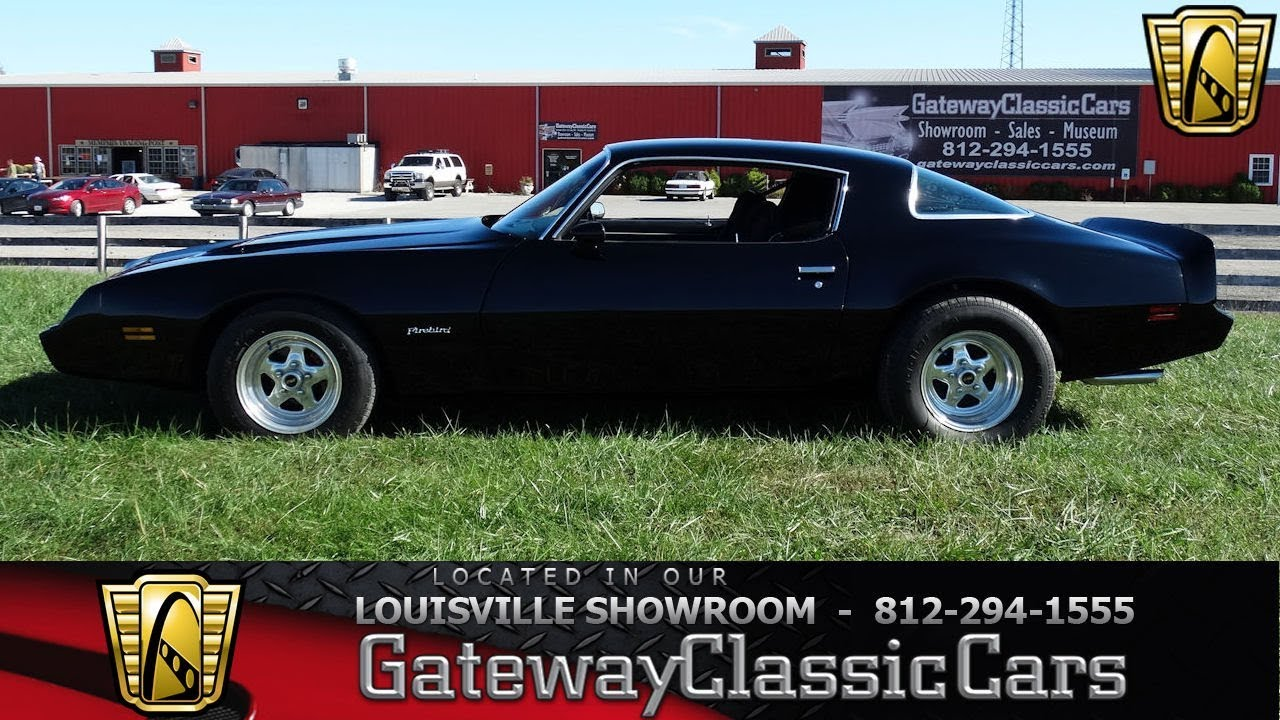 1979 Pontiac Firebird - Louisville Showroom - Stock # 1662 - YouTube