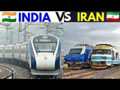 Indian Railways VS Iran railways | 2020,