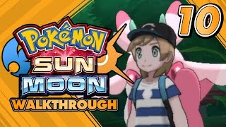 Pokémon Sun and Moon Walkthrough - Part 10: FOURTH TRIAL AT LUSH JUNGLE AND TOTEM LURANTIS!