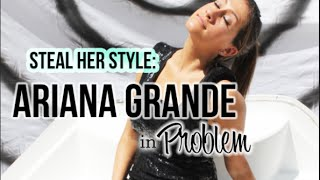 "Ariana Grande ""Problem"" Official Music Video Hair Makeup and Outfit Tutorial! 
