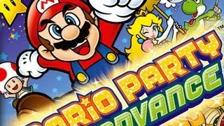 CGRundertow MARIO PARTY ADVANCE for Game Boy Advance Video Game Review