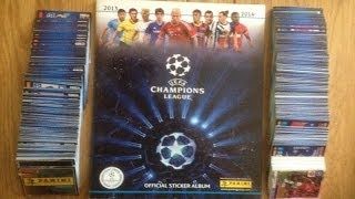 Complete 100% ☆ Panini UEFA CHAMPIONS LEAGUE 2014 Sticker Album ☆ [HD]