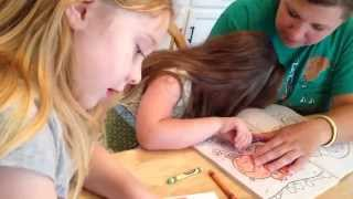 Isabella 30- ABA Therapy with Severely Autistic Child, Coloring