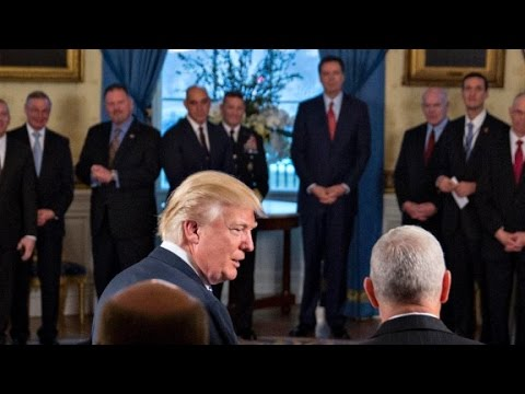 Friend: Comey tried to blend in with White House curtains
