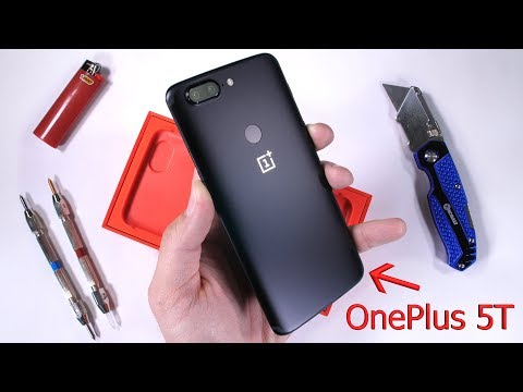 Thumbnail: OnePlus 5T Durability Test! Scratch and Bend tested!