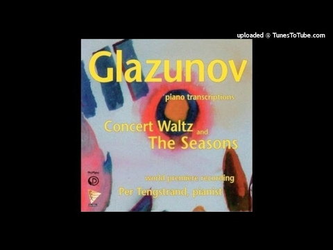 Alexander Glazunov : The Seasons Op. 67, Ballet arranged for piano by the composer (1899)