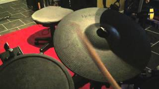 Roland CY-13R Ride Cymbal Pad Demo
