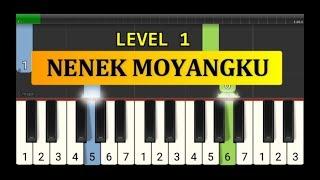 nada piano nenek moyangku tutorial piano grade 1 lagu nenek moyangku seorang pelaut