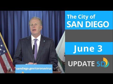 June 3, 2020 City of San Diego Update