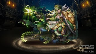 [Tower of Saviors] Athena Goddess of Wisdom - Power Release