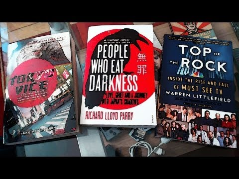 Ausgepackt! #31 ~ Tokyo Vice, People who eat Darkness, Top of the Rock
