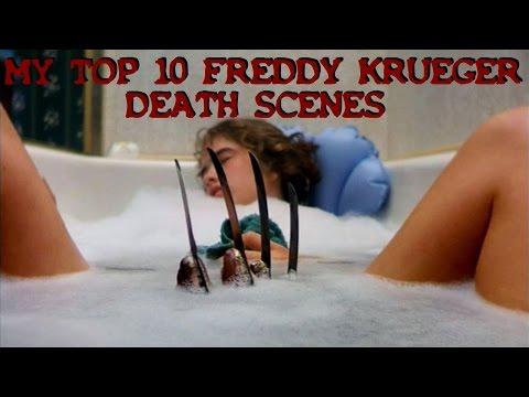 My Top 10 Freddy Krueger Kills HD