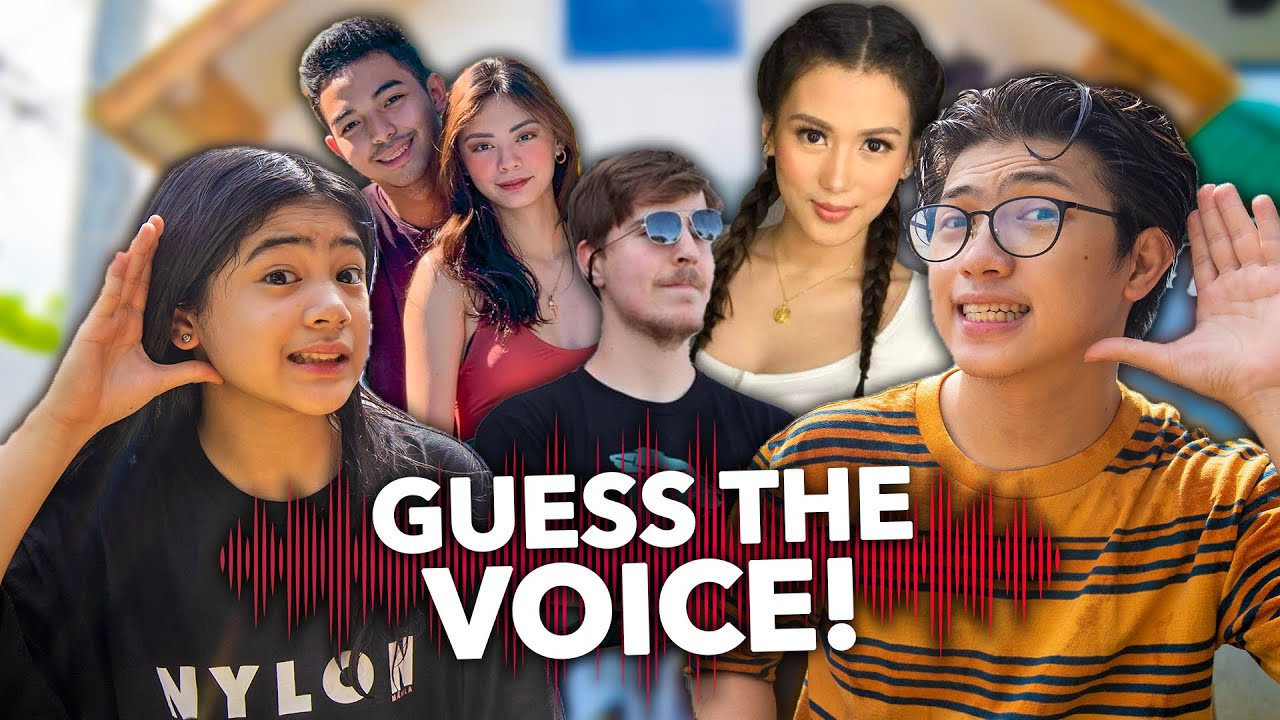 Guess the YouTuber Using ONLY Their Voice! (HIRAP!)| Ranz and Niana