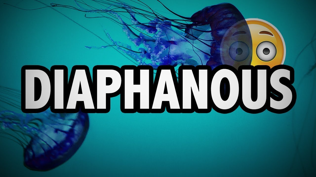 Amazing Learn English Words   DIAPHANOUS   Meaning, Vocabulary With Pictures And  Examples