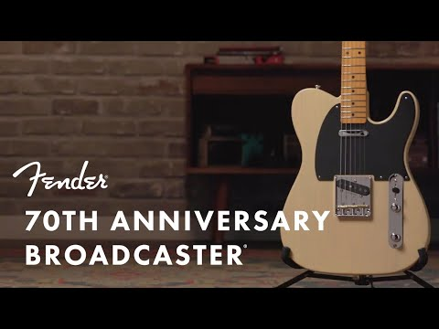 The 70th Anniversary Broadcaster ft. Todd Sharp | Fender
