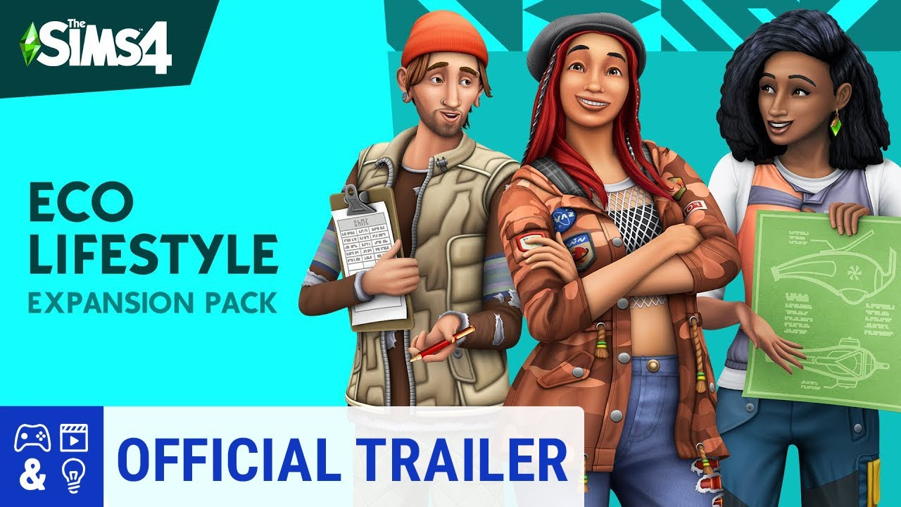 The Sims 4 Eco Lifestyle: Official Reveal Trailer thumbnail