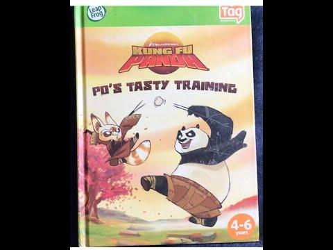 KUNG FU PANDA: Po's Tasty Training by Scott Sonneborn