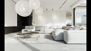 Two Modern, Minimalist Homes That Indulge In Lots Of White