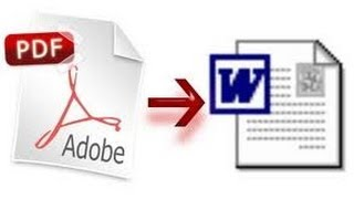 كيف تحول ملفات PDF إلى Word بدون إستخدام برامج