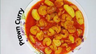 Prawn Curry | Shrimp Curry | Chingudi Jhola