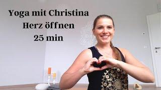 Yoga - Herz öffnen & Liebe schenken (25 min)