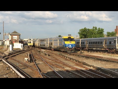 MTA Long Island Rail Road Morning Rush Hour Action @ Jamaica (9/9/19)