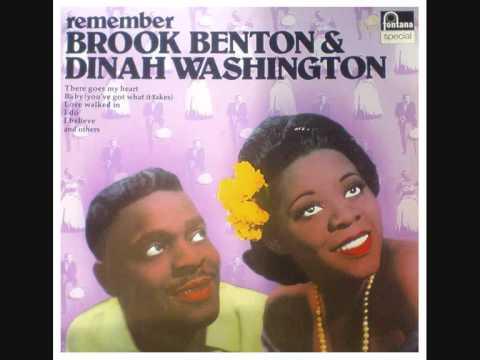 Dinah Washington, Brook Benton - I Believe