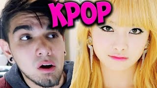REACTING TO MORE GIRL KPOP FOR THE FIRST TIME!! (TWICE , F(X) AND MORE!)