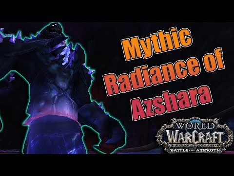 BFA - 8.2 The Eternal Palace Mythic Radiance of Azshara Kill! Affliction Warlock POV!