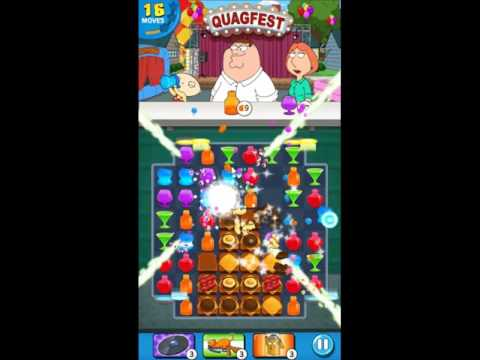 Family Guy Another Freakin Mobile Game Level 174 - NO BOOSTERS