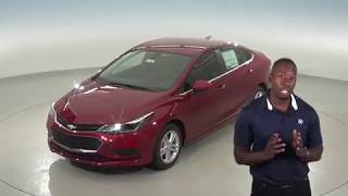 183067 - New, 2018, Chevrolet Cruze, LT, Sedan, Red, Test Drive, Review, For Sale -