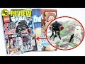 LEGO 2017 AUGUST STAR WARS MAGAZINE BUMPER ISSUE REVIEW!