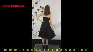 Tanzkleid / Dancedress Jarkata mit und ohne Petticoat Casual