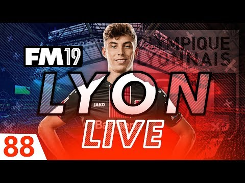 Football Manager 2019 | Lyon Live #88: £100m+ To Spend!? #FM19