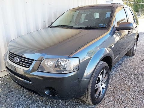 (SOLD) Automatic Cars 7 Seat Ford Territory 2008 review