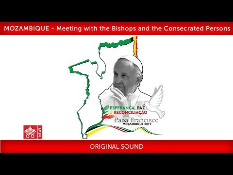 Pope Francis-Maputo- Meeting with Bishops 2019-09-05