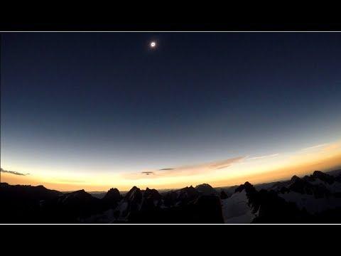 Gannett Peak Eclipse - August 21st, 2017