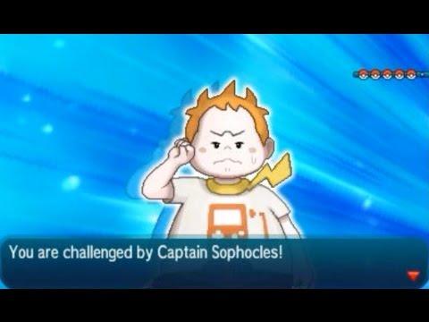Pokémon Sun and Moon: Champion Title Defense (VS Captain Sophocles)