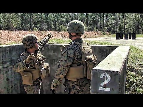 Marines Practice Throwing Live Grenades