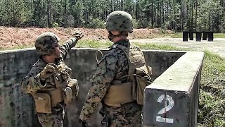 Marines Practice Throwing Live Grenades