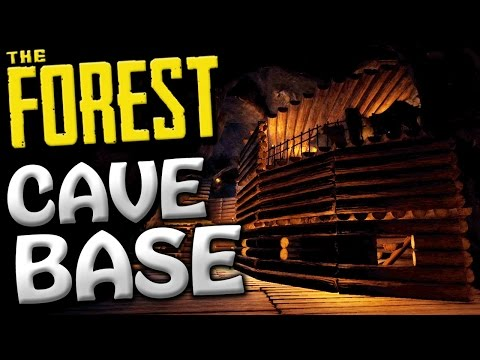 The Forest Creative Mode - DEEP CAVE BASE? - Update 0.52 Creative Gameplay - #2