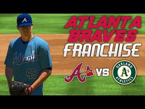 MLB The Show 17: Braves Franchise @ Athletics [G82 S1, Ep. 20] - THROWBACK