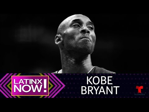 Kobe Bryant fallece en accidente aéreo a los 41 años | @Latinx Now! | Entretenimiento