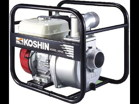 KOSHIN STH-50X with Honda GX120 water pump
