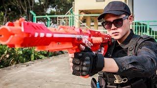 LTT Game Nerf Guns : Gaming nerf guns | Play nerf Guns SEAL X Attack friends Crime Squad