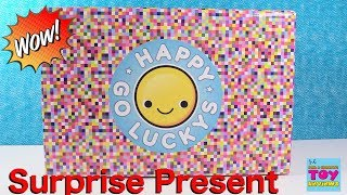 Happy Go Luckys Hallmark Collectible Plush Surprise Present Unboxing | PSToyReviews